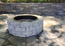 Beaudoin Stonescapes Custom Fire Pit