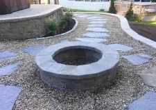 Beaudoin Stonescapes Stone Fire Pit
