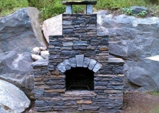 Beaudoin Stonescapes Outdoor Fireplace