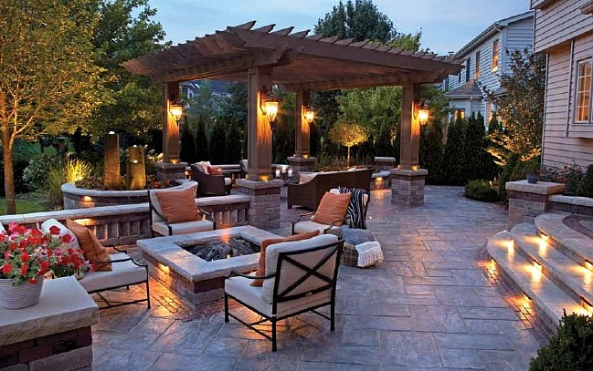 Light up the night by lighting up your landscape